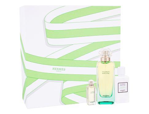 Hermes Un Jardin Sur Le Nil EDT dárková sada pro ženy - EDT 100 ml + tělové mléko 40 ml + EDT 7,5 ml
