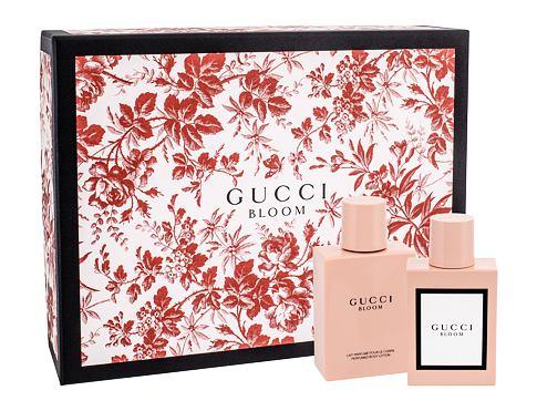 Gucci Bloom EDP dárková sada pro ženy - EDP 50 ml + tělové mléko 100 ml