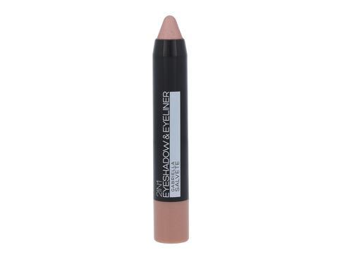 Gabriella Salvete Eyeshadow & Eyeliner 2in1 3,5 g oční stín 03 Metallic Rose pro ženy