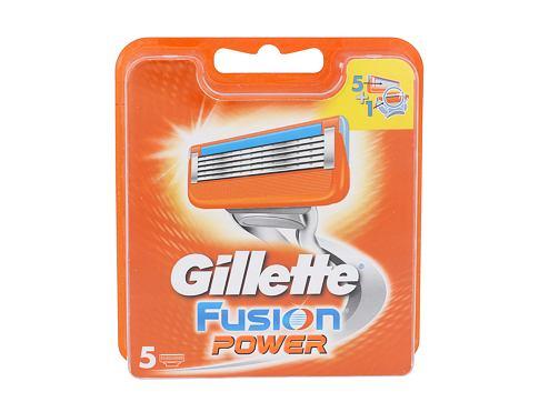 Gillette Fusion Power 5 ks náhradní břit pro muže