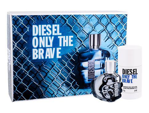 Diesel Only The Brave EDT dárková sada pro muže - EDT 35 ml + deodorant 75 ml