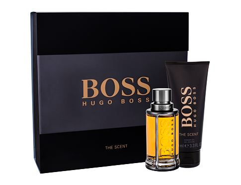HUGO BOSS Boss The Scent EDT dárková sada pro muže - EDT 50 ml + sprchový gel 100 ml