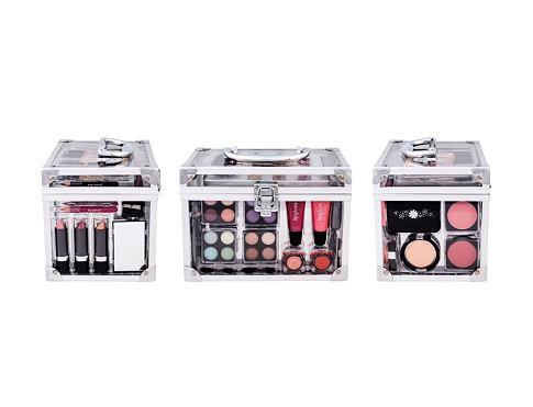Makeup Trading Transparent dekorativní kazeta dárková sada pro ženy - Complete Makeup Palette