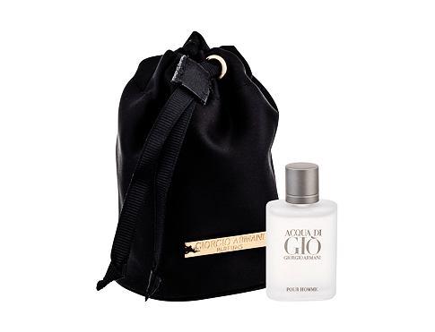 Giorgio Armani Acqua di Gio Pour Homme EDT dárková sada pro muže - EDT 5 ml + dárkový pytlík