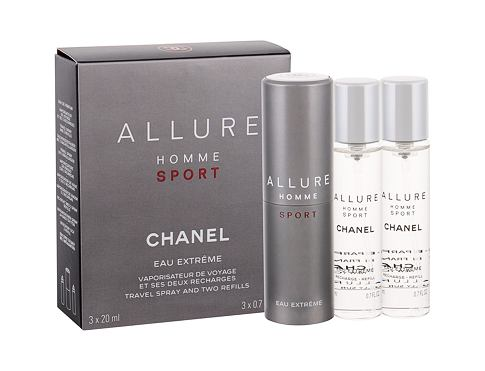 Toaletní voda Chanel Allure Homme Sport Eau Extreme Twist and Spray 3x20 ml