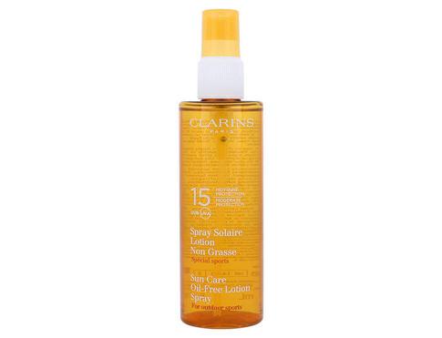 Clarins Sun Care Spray Oil Free Lotion 150 ml opalovací přípravek na tělo pro ženy