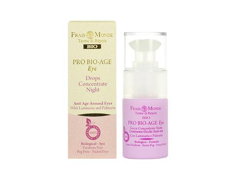 Frais Monde Pro Bio-Age Eye Drops Night Concentrate 15 ml oční gel pro ženy