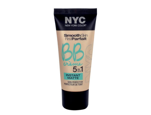 BB krém NYC New York Color Smooth Skin Fini Parfait 5in1 Instant Matte 30 ml 01 Light