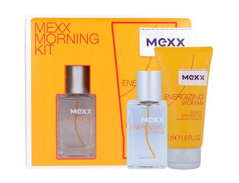 Mexx Energizing Woman EDT dárková sada pro ženy - EDT 15 ml + sprchový gel 50 ml