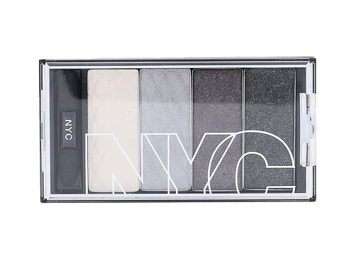 Oční stín NYC New York Color HD Color Quattro Eye Shadow 6 g 797 Gothic Harlem