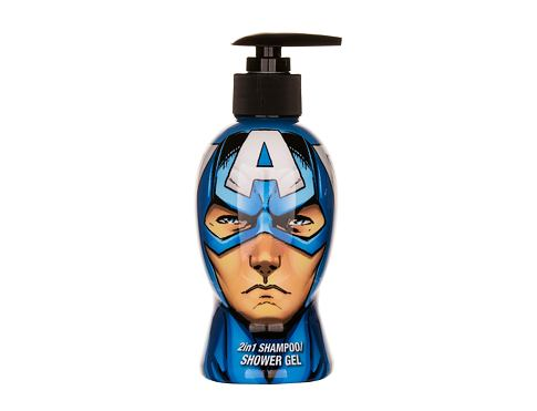 Marvel Avengers Captain America 300 ml sprchový gel unisex