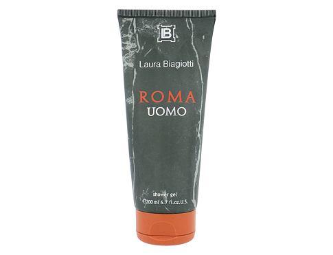 Laura Biagiotti Roma Uomo 200 ml sprchový gel pro muže