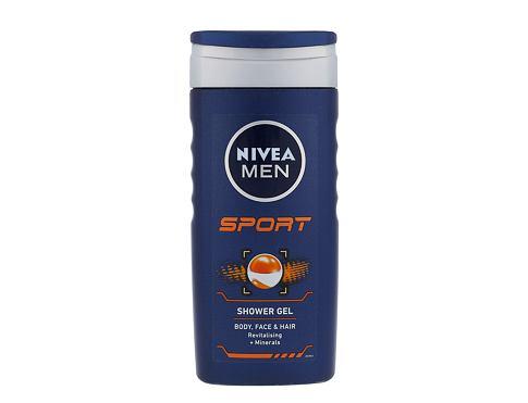 Nivea Men Sport 250 ml sprchový gel pro muže