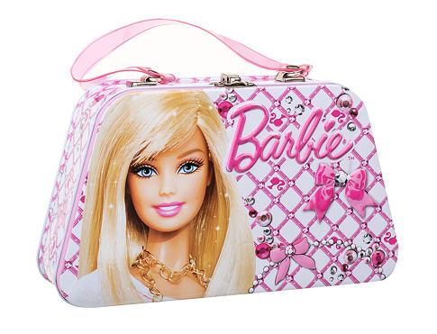Barbie Barbie EDT dárková sada unisex - EDT 50 ml + tetování + plechová krabička