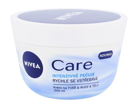 Nivea Care 200 ml denní pleťový krém pro ženy