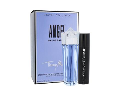 Thierry Mugler Angel EDP dárková sada Naplnitelný pro ženy - EDP 100 ml + EDP 7,5 ml