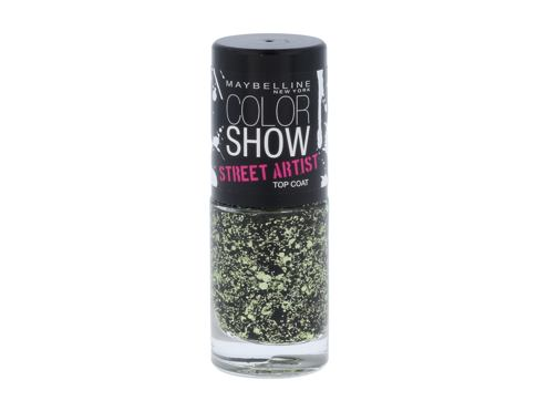 Lak na nehty Maybelline Color Show Street Artist 7 ml 01 Boom Box Black