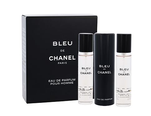 Chanel Bleu de Chanel 3x 20ml 3x20ml ml EDP Twist and Spray pro muže