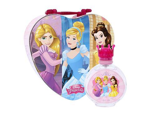 Disney Princess Princess EDT dárková sada unisex - EDT 100 ml + plechová krabička