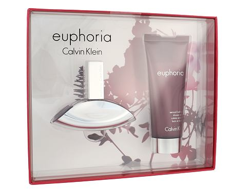 Calvin Klein Euphoria EDP dárková sada pro ženy - EDP 30 ml + sprchový krém 100 ml