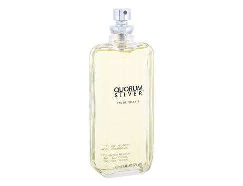 Antonio Puig Quorum Silver 100 ml EDT Tester pro muže