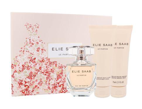 Elie Saab Le Parfum EDP dárková sada pro ženy - EDP 90 ml + tělové mléko 75 ml + sprchový krém 75 ml