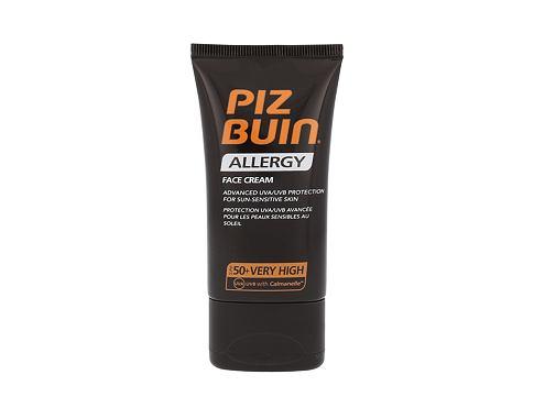 PIZ BUIN Allergy SPF50 40 ml opalovací přípravek na obličej pro ženy