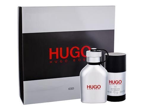 HUGO BOSS Hugo Iced EDT dárková sada pro muže - EDT 75 ml + deostick 75ml