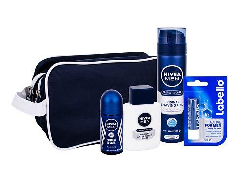 Nivea Men Protect & Care balzám po holení dárková sada pro muže - balzám po holení 100 ml