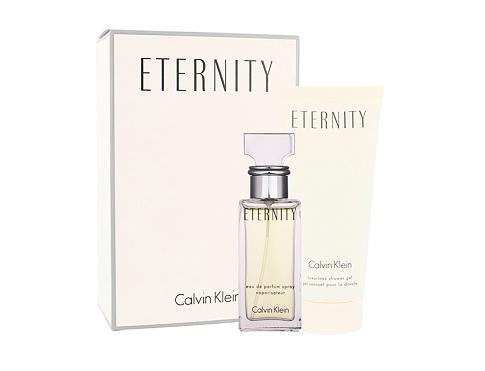 Calvin Klein Eternity EDP dárková sada Poškozená krabička pro ženy - EDP 30 ml + sprchový gel 100 ml