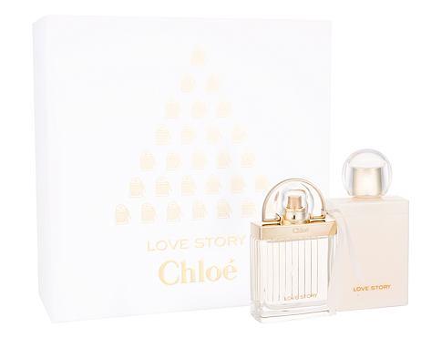Chloe Love Story EDP dárková sada pro ženy - EDP 50 ml + tělové mléko 100 ml