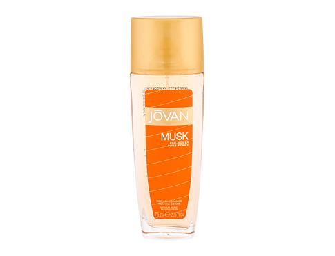 Jovan Musk For Women 75 ml deodorant Deospray pro ženy