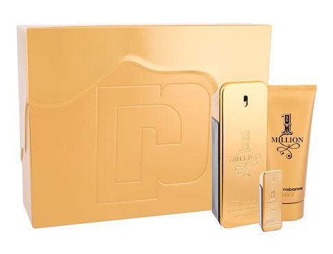 Paco Rabanne 1 Million EDT dárková sada pro muže - EDT 100 ml + sprchový gel 100 ml + EDT 5 ml