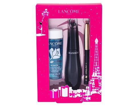 Lancome Grandiose řasenka dárková sada 01 Noir Mirifique pro ženy - řasenka 10 ml + tužka na oči Le Crayon Khol 0,7 g 01 Noir + odličovací přípravek na oči Bi-Facil 30 ml