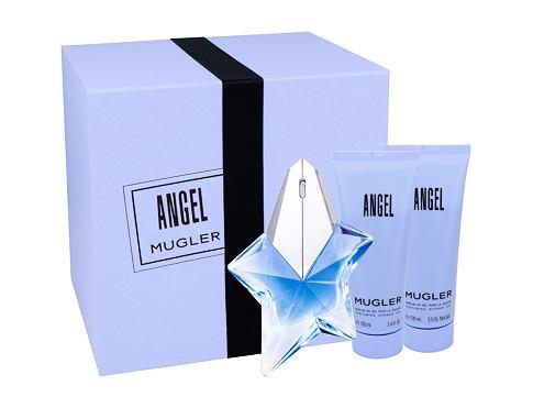 Thierry Mugler Angel EDP dárková sada Naplnitelný pro ženy - EDP 50 ml naplnitelný + tělové m