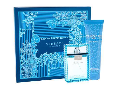 Versace Man Eau Fraiche EDT dárková sada pro muže - EDT 100ml + sprchový gel 150 ml