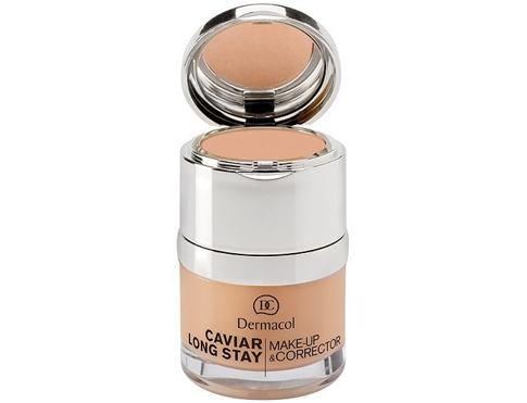 Dermacol Caviar Long Stay Make-Up & Corrector 30 ml makeup 1 Pale pro ženy