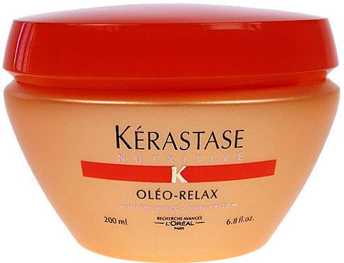 Kérastase Nutritive Oléo Relax 200 ml maska na vlasy Poškozená krabička pro ženy