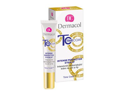 Dermacol Time Coat Intense Perfector 15 ml oční krém pro ženy