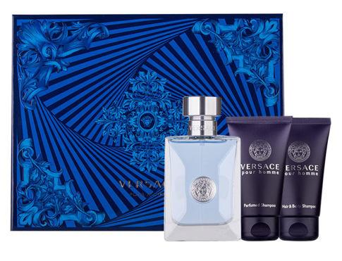 Versace Pour Homme EDT dárková sada pro muže - EDT 50ml + sprchový gel 50 ml + šampon 50 ml