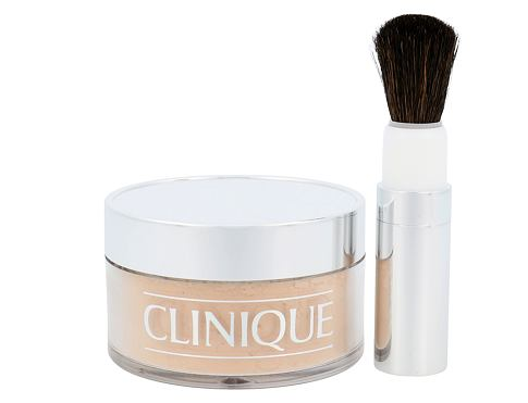 Clinique Blended Face Powder And Brush 35 g pudr 03 Transparency pro ženy