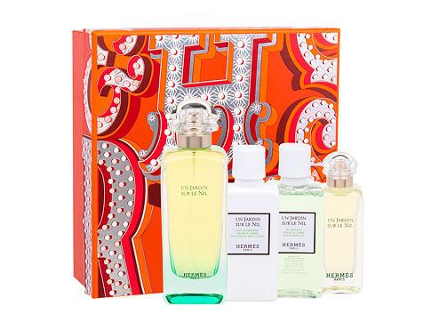 Hermes Un Jardin Sur Le Nil EDT dárková sada pro ženy - EDT 100 ml + tělové mléko 40 ml + sprchový gel 40 ml + EDT 7,5 ml