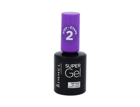 Lak na nehty Rimmel London Super Gel Top Coat 12 ml