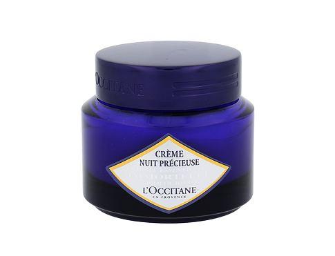 L´Occitane Immortelle Precious Night Cream 50 ml noční pleťový krém pro ženy
