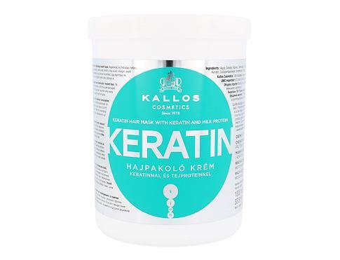 Kallos Cosmetics Keratin 1000 ml maska na vlasy pro ženy