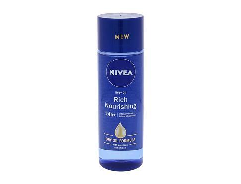Nivea Body Oil Rich Nourishing 200 ml tělový olej pro ženy