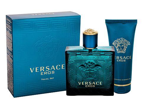 Versace Eros EDT dárková sada pro muže - EDT 100ml + sprchový gel 100 ml