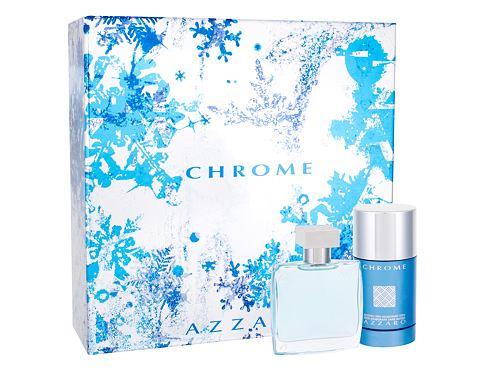 Azzaro Chrome EDT dárková sada pro muže - EDT 50 ml + deostick 75 ml
