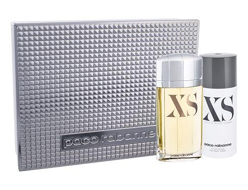 Paco Rabanne XS Pour Homme EDT dárková sada pro muže - EDT 100 ml + deodorant 150 ml