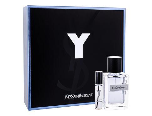 Yves Saint Laurent Y EDT dárková sada pro muže - EDT 60 ml + EDT 10 ml